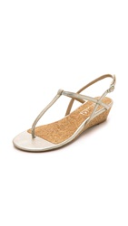 Splendid Edgewood Demi Wedge Sandals Gold