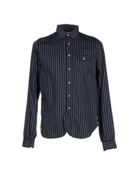 Bellerose Shirts Dark Blue