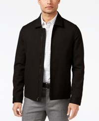 Alfani Men's Spread Collar Jacket Only At Macy's Deep Black