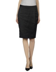 Just Cavalli Skirts Knee Length Skirts Women Black