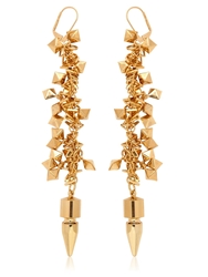Assad Mounser Moon Age Day Dream Earrings Gold