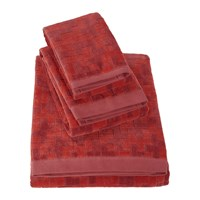 Hugo Boss Stencil Chestnut Towel Bath Sheet