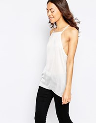 Glamorous Racer Back Cami Top Cream
