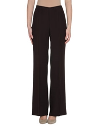 Claudia Gil Dress Pants Dark Brown