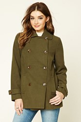 Forever 21 Double Breasted Pea Coat