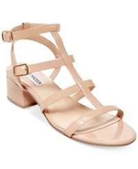 Steve Madden Women's Luccille Kitten Heel Sandals Women's Shoes Blush Patent