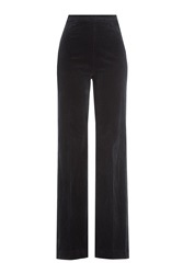 Alexa Chung For Ag Laura Wide Leg Corduroy Pants Blue