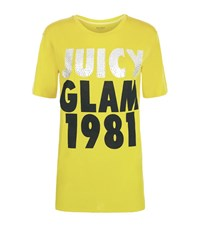Juicy Couture Juicy Glam T Shirt Female Yellow