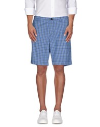 Ben Sherman Trousers Bermuda Shorts Men Azure