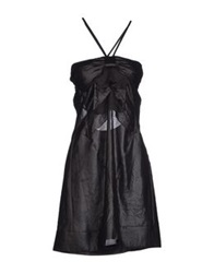 Siviglia Short Dresses Black