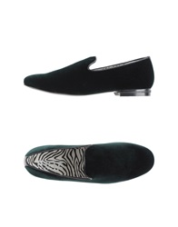 Naif Moccasins Dark Green
