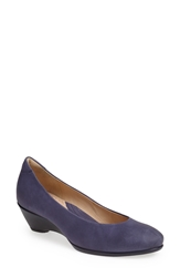 Ecco 'Sculptured 45' Wedge Pump Women Midnight