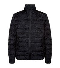 Porsche Design Weatherproof Down Camo Jacket Male Black