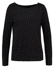 Opus Long Sleeved Top Black