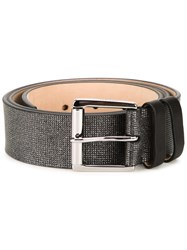 Jimmy Choo Metallic Belt Black