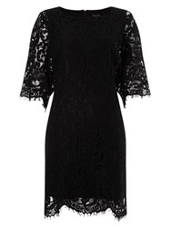 Phase Eight Kimono Lace Dress Black
