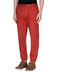 Freshjive Casual Pants Brick Red