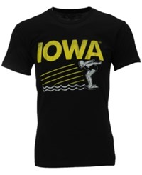 Retro Brand Men's Iowa Hawkeyes Swimming Sport Graphic T Shirt