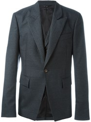 Vivienne Westwood Man One Button Blazer Grey