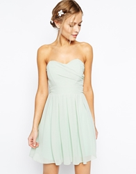 Tfnc Prom Dress In Pleated Chiffon Greenlily