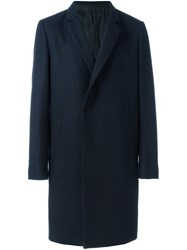 Wooyoungmi Single Breasted Coat Blue