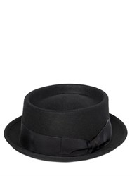 Borsalino Lapin Fur Felt Pork Pie Hat