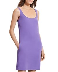 Ralph Lauren Scoop Neck Tank Dress Charleston Purple