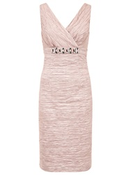 Planet Ruched Dress Oyster
