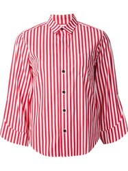 Toga Striped Shirt Red