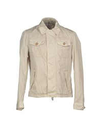Luigi Borrelli Napoli Coats And Jackets Jackets Men Beige
