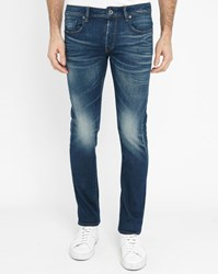 G Star Faded Blue 3301 Slim Fit Jeans