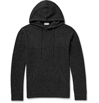 Club Monaco Boiled Merino Wool Blend Hoodie Gray