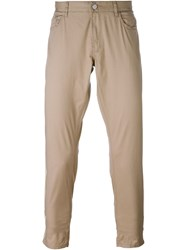 Michael Kors Skinny Trousers Nude And Neutrals