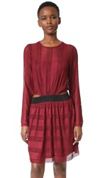 Endless Rose Sheath Dress Burgundy