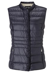 Gerry Weber Down Filled Gilet Indigo