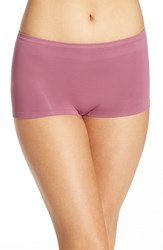 Nordstrom Women's Lingerie Seamless Boyshorts Purple Bordeaux