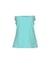 Duck Farm Tube Tops Turquoise