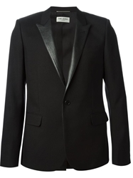 Saint Laurent Classic Smoking Blazer Black