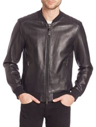 Mackage Graham Leather Jacket Black