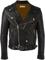 Golden Goose Deluxe Brand 'Golden' Biker Jacket Black