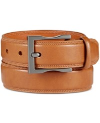 Kenneth Cole Reaction Men's Feather Edge Belt Tan