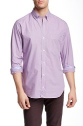 Tailorbyrd Long Sleeve Woven Shirt Purple