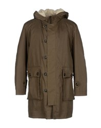 Harnold Brook Coats And Jackets Jackets Men Military Green
