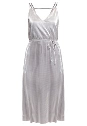 Oasis Cocktail Dress Party Dress Silver