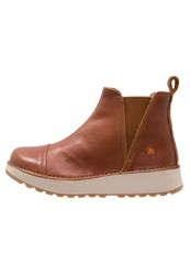 Art Heathrow Platform Boots Brown