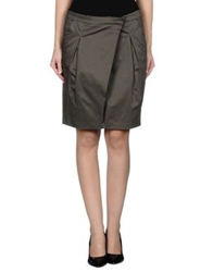 G.Sel Knee Length Skirts Lead