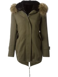 Forte Couture 'Gala' Parka Green