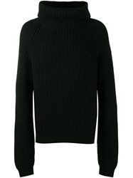 Haider Ackermann Chunky Roll Neck Jumper Black