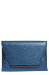 Jessica Mcclintock 'Ryder' Envelope Clutch Blue 23 Navy
