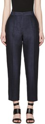 3.1 Phillip Lim Indigo Pencil Trousers